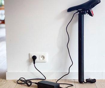 charger un velo electrique
